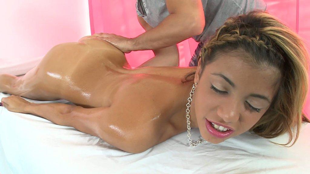 Veronica Rodriguez porno massage